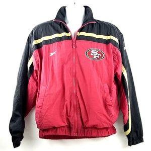 VTG REEBOK PRO-LINE San Francisco 49ers Jacket Med